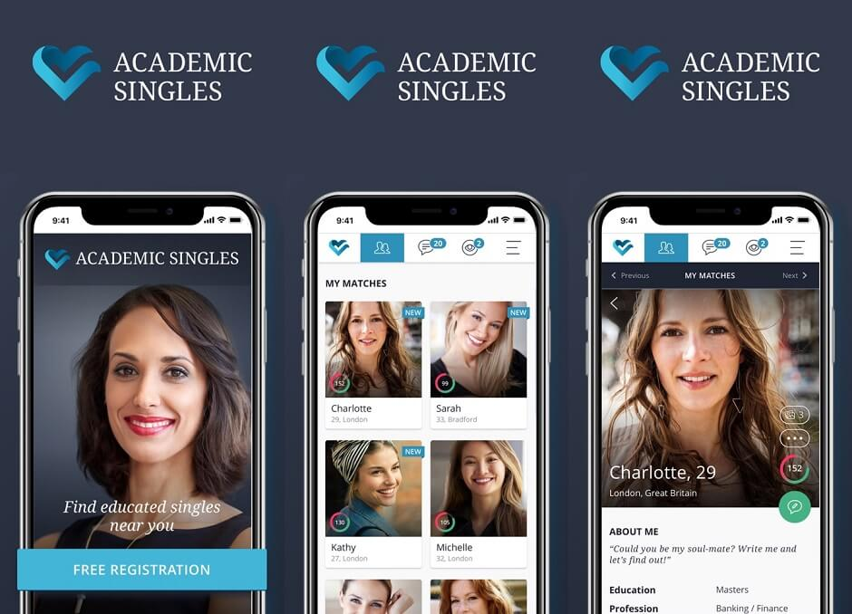 Academic Singles - Flirt, chat, date and fall in love!