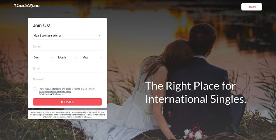 VictoriaHearts - Best International Dating Site To Meet Singles